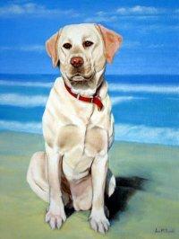Click for larger dog art